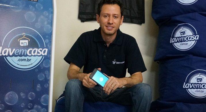 De executivos a criador de startup, o CEO da Lavemcasa Fabrício Sucupira